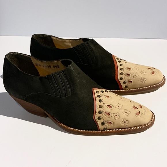 eae463a3e2eab H.P.⭐️ Dolcis • 80s vintage western nubuck booties